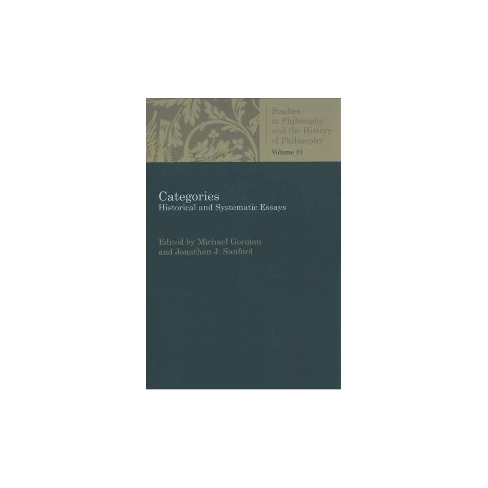 Categories : Historical and Systematic Essays - Reprint (Paperback)