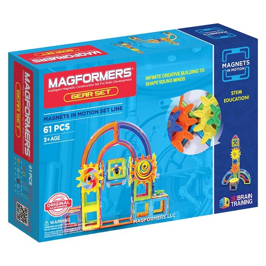 Magformers Magnets in Motion - 61Pc image number null
