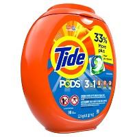 192CT Tide Pods Laundry Detergent Pacs Original + $10 GC