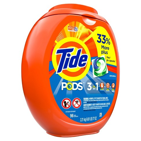 Tide Pods Laundry Detergent Pacs Original - 96ct - image 1 of 3