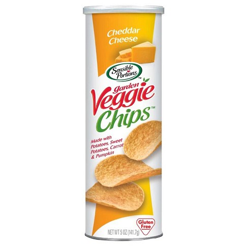 Sensible Portions® Cheddar Cheese Garden Veggie Chips - 5oz - image 1 of 2
