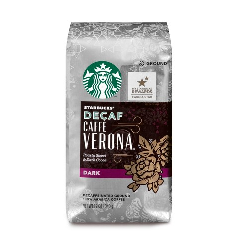 Starbucks Decaf Caffè Verona Dark Roast Ground Coffee - 12oz - image 1 of 3