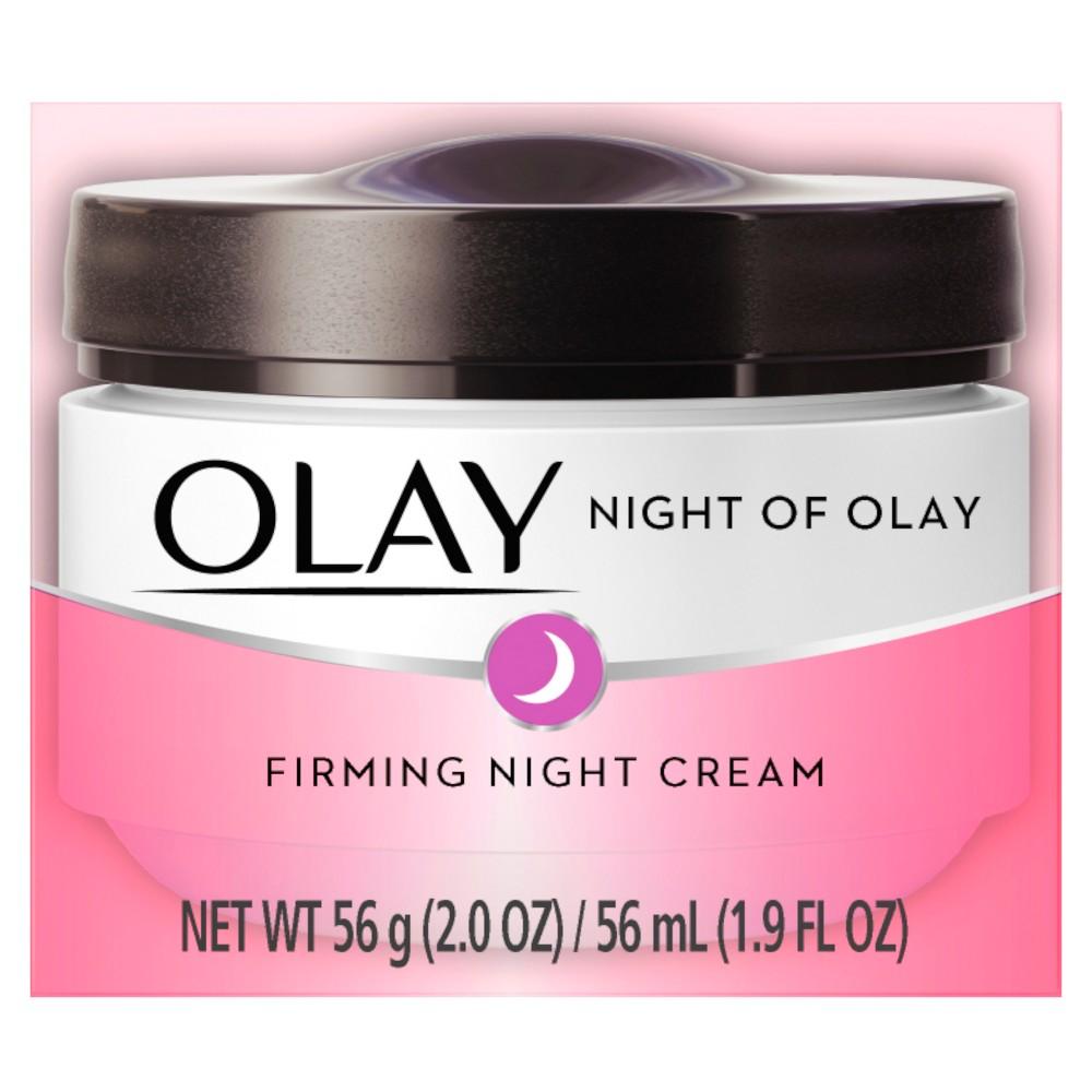 Olay Night Of Olay Firming Cream - 2 oz