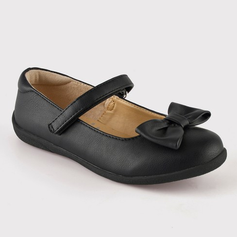Girls' Orly Mary Jane Ballet Flats - Cat & Jack™ Black - image 1 of 3
