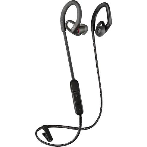 Plantronics Backbeat Fit 350 Stable Ultra Light Wireless Sport Earbuds Black Target