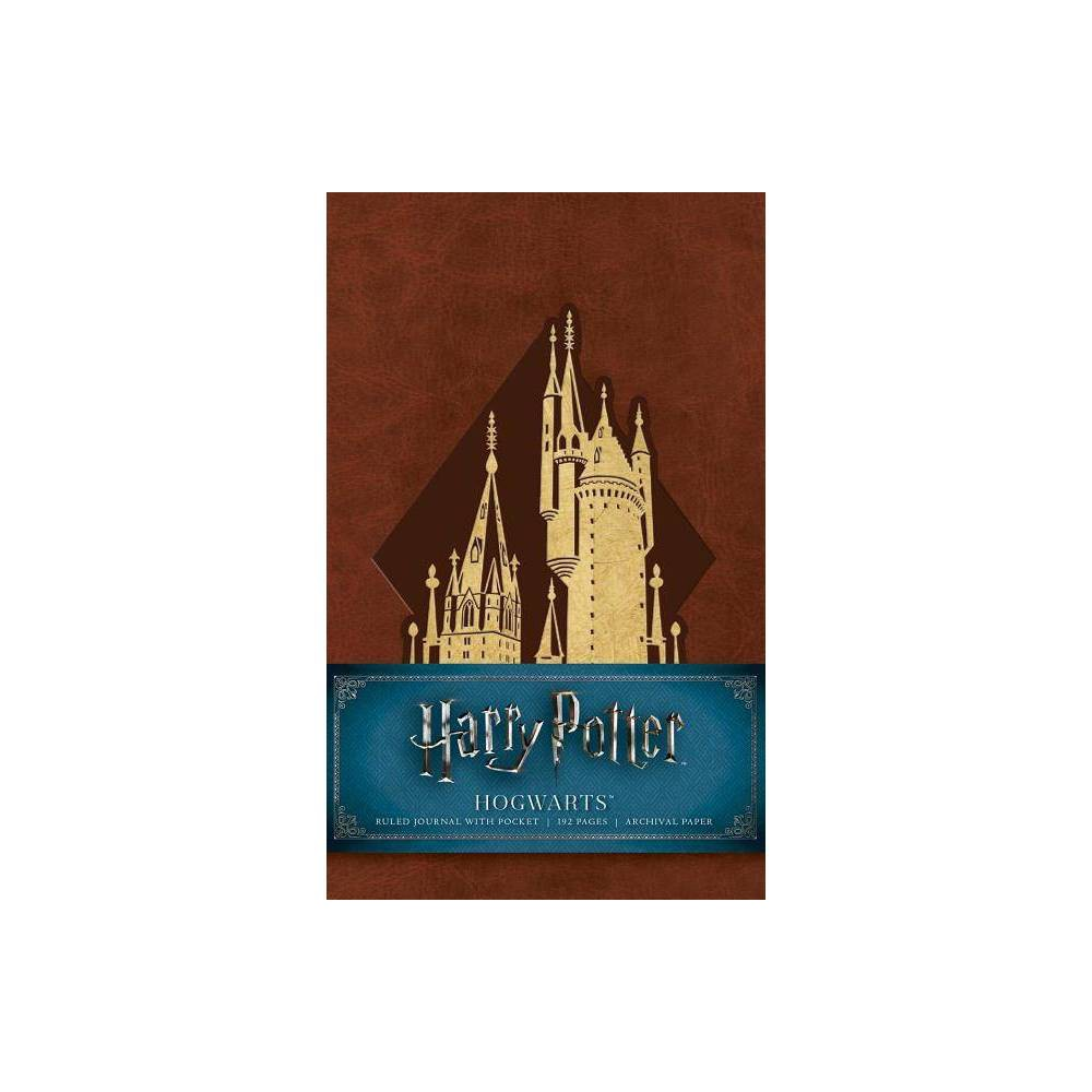 Harry Potter Hogwarts Ruled Pocket Journal - by Insight Editions (Hardcover) Cheap