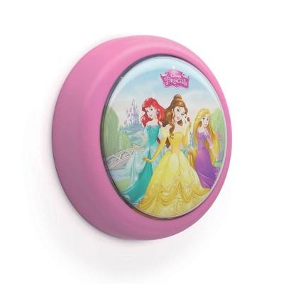 Philips Disney Princess Battery Powered LED Push Touch Kids Toddler Night Light