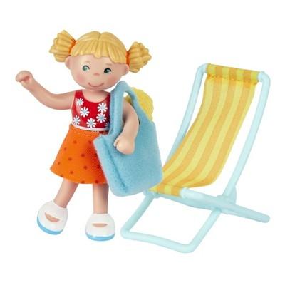 "HABA Little Friends Tina - 4"" Dollhouse Girl Figure"