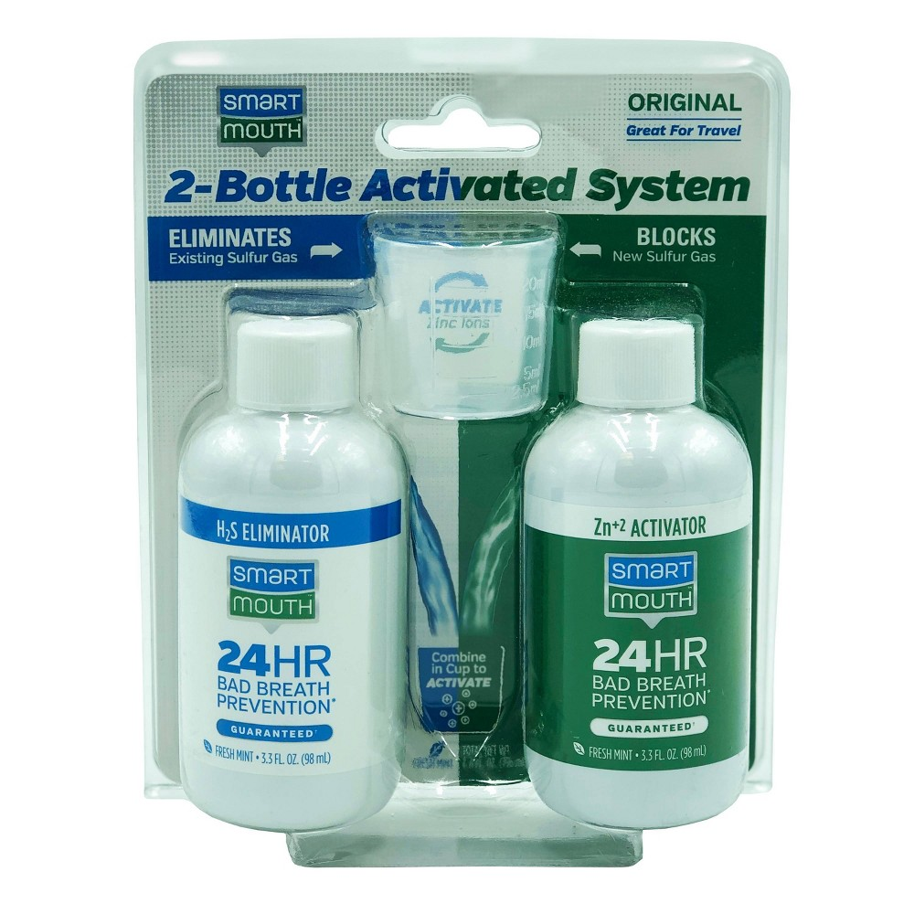 Image of SmartMouth Original Activated Breath Rinse 2-Bottle System