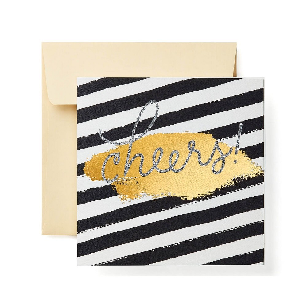 'Cheers' Print Card, Multi-Colored