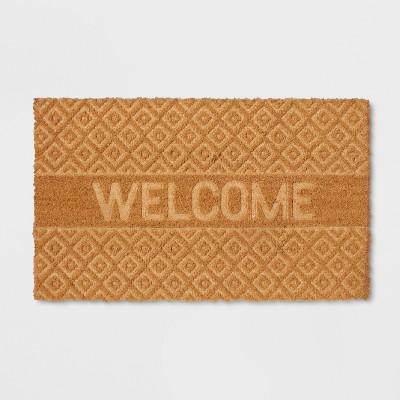 18  x 30  Welcome Embossed Outdoor Doormat - Threshold™