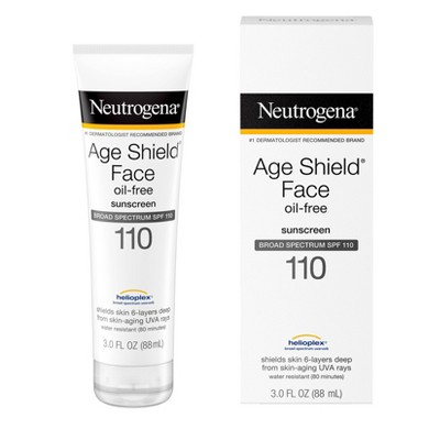 Neutrogena Age Shield Face Sunscreen - SPF 110 - 3 fl oz