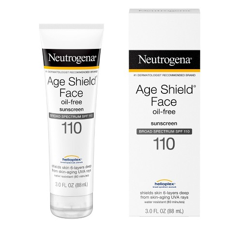Neutrogena Age Shield Face Sunscreen - SPF 110 - 3 fl oz - image 1 of 4