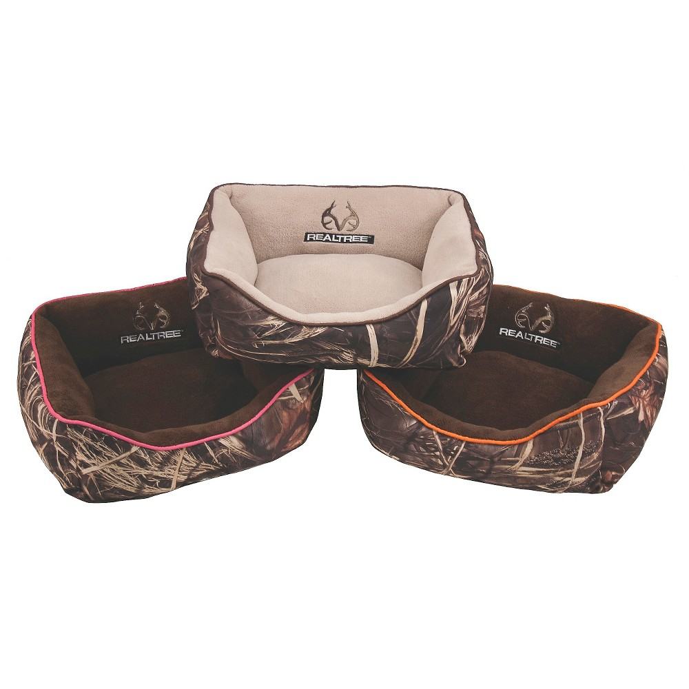 Realtree Box Pet Bed - 18