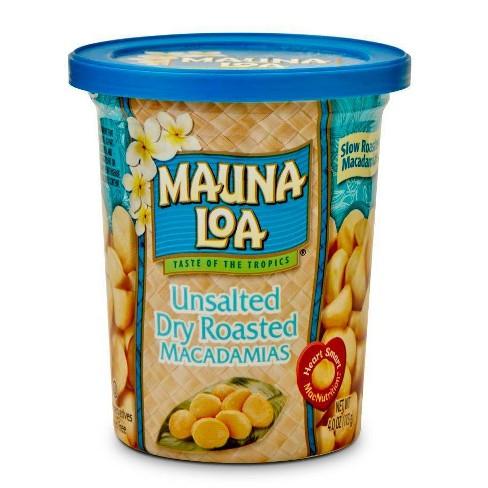 Mauna Loa Unsalted Dry Roasted Macadamias - 4.5oz - image 1 of 1