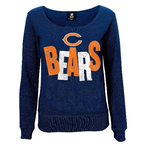 Chicago Bears Girls Open Neck Fleece L - image 1 of 1