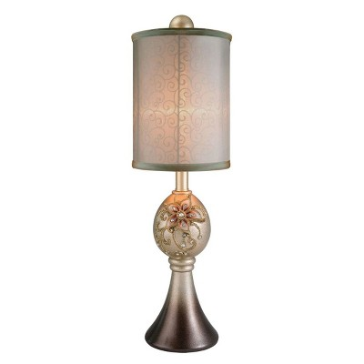 OK Lighting Sapphire Rose Buffet Lamp