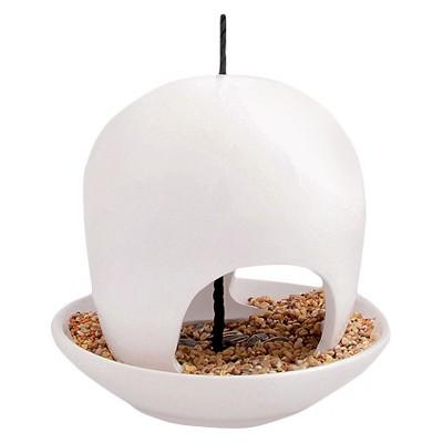 7.3  Ceramic Bird Villa - White - White - Esschert Design