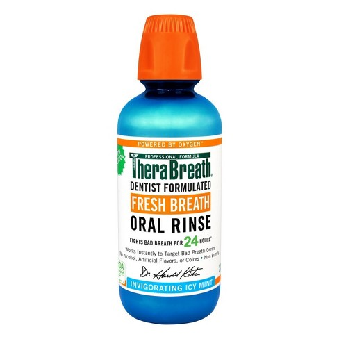 TheraBreath® Icy Mint Fresh Breath Oral Rinse - 16oz - image 1 of 1
