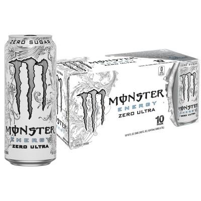 Monster Zero Ultra Energy Drink - 10pk/16 fl oz Cans