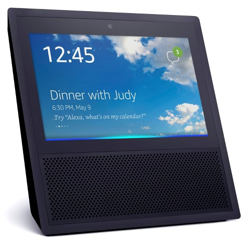 amazon echo show alexa enabled bluetooth speaker with 7. Black Bedroom Furniture Sets. Home Design Ideas
