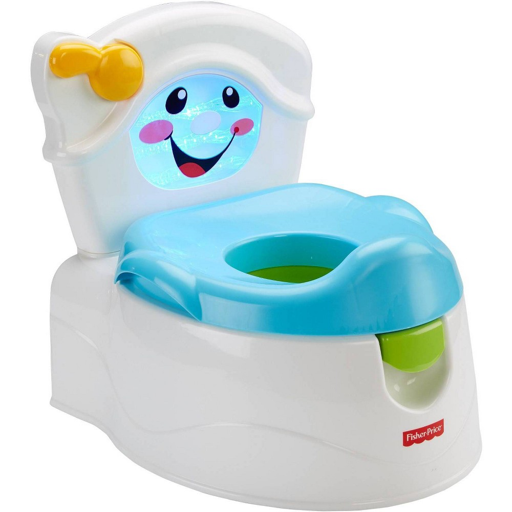 Image of Fisher-Price Learn-to-Flush Potty, White
