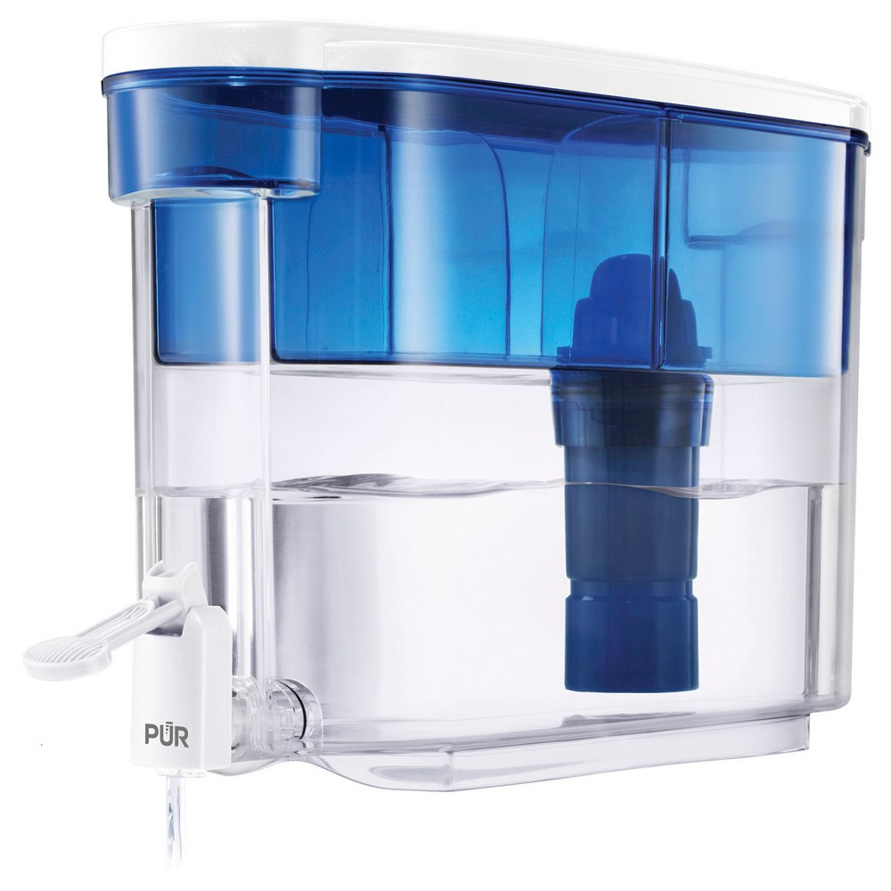 Image of PUR Classic 18 Cup Water Dispenser, Blue Clear