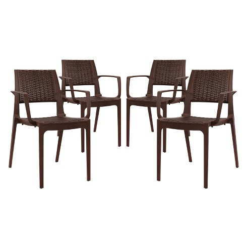 Astute Dining Set Set of 4 - Modway - image 1 of 5