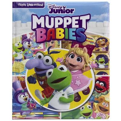 Disney Junior Muppet Babies - (Look and Find) (Board Book)