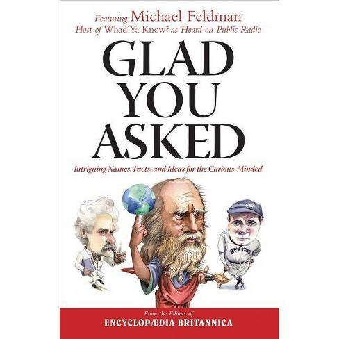 Glad You Asked - (Hardcover) - image 1 of 1