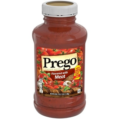 Prego Flavored with Meat Italian Sauce 45oz