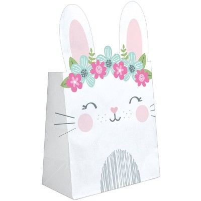 8ct Bunny Print Party Favor Bags
