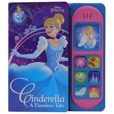 Disney Princess Cinderella: A Timeless Tale - (Play-A-Sound) (Board Book)