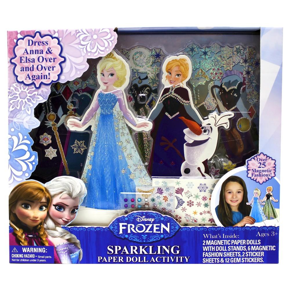 Frozen Sparkling Paper Dolls