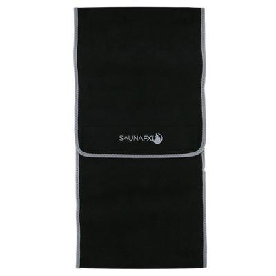 "SaunaFX 10"" Slimmer Belt - double bonded with Microban - Black"