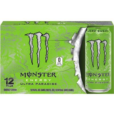 Monster Energy Ultra Paradise - 12pk/16 fl oz Cans