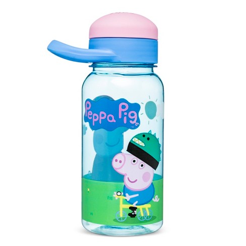 Peppa Pig Entertainment One 14oz Plastic Water Bottle Blue/Pink - image 1 of 1