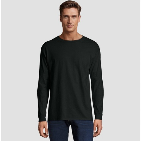 Hanes Men's Long Sleeve Beefy T-Shirt - image 1 of 4