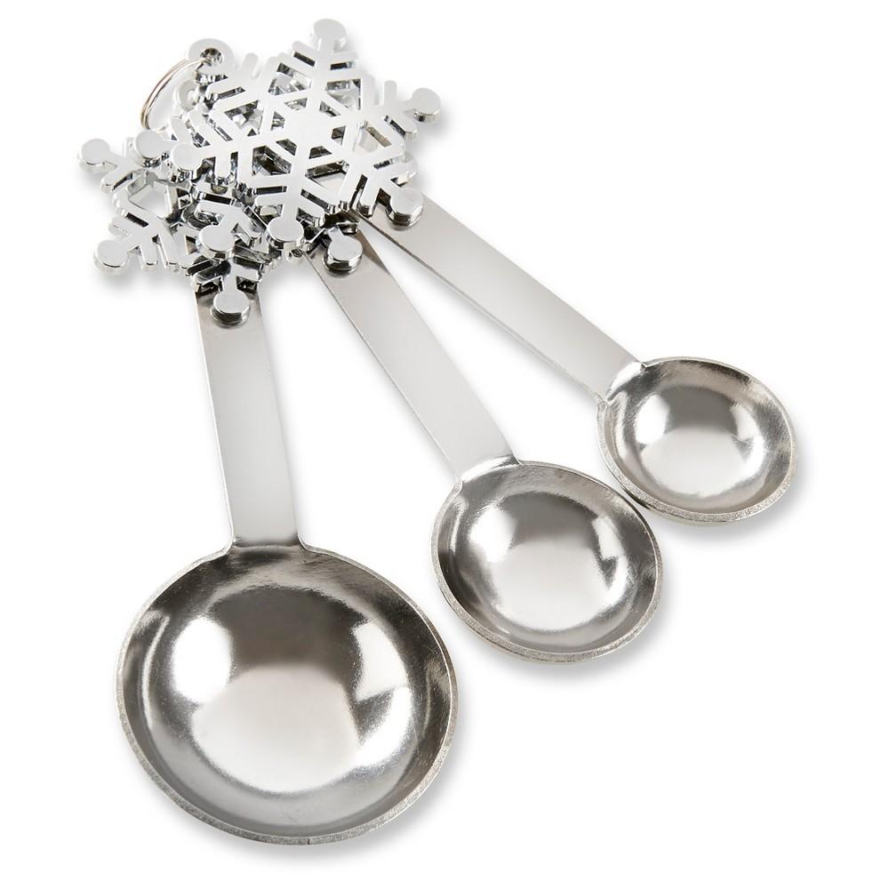 6ct Kate Aspen Snowflake Measuring Spoons