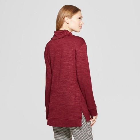 de8e9409ea9415 Women s Long Sleeve Cozy Cowl Neck Top - A New Day™   Target
