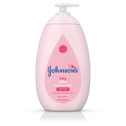 Johnson's Moisturizing Pink Baby Lotion with Coconut Oil - 27.1oz