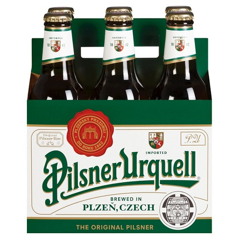 Pilsner Urquell® Pilsner Beer - 6pk / 12oz Bottles - image 1 of 1