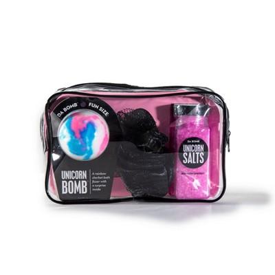 Da Bomb Bath Fizzers Unicorn Spa Gift Set - 3pc/12oz