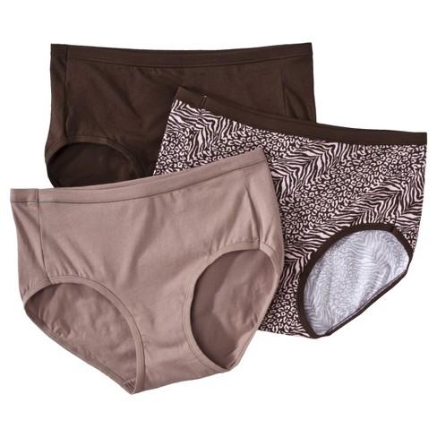 f467115bb163 Hanes® Women's ComfortSoft® Waistband Cotton Low Rise Briefs ET39AS 3-Pack