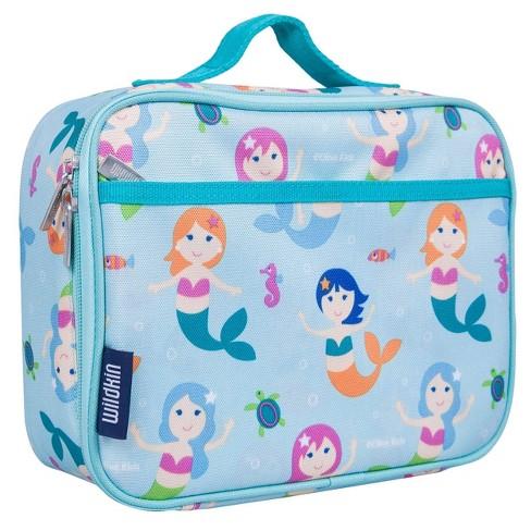 Wildkin Olive Kids' Lunch Box - Mermaids - image 1 of 4