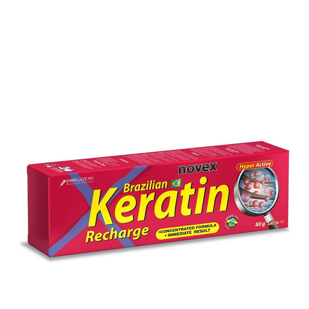 Image of Novex Brazilian Keratin Recharge Tube Leave in Conditioner - 2.8 fl oz