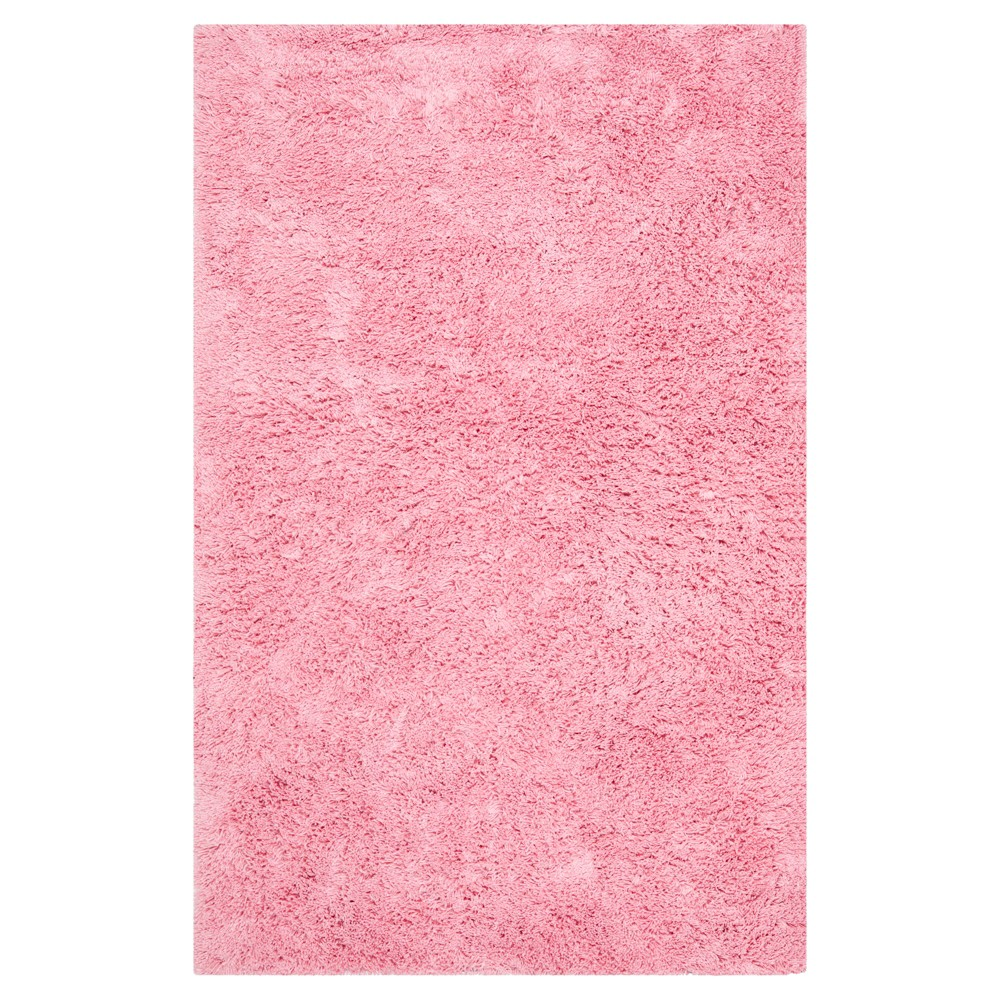 Pink Solid Tufted Area Rug - (5'x8') - Safavieh