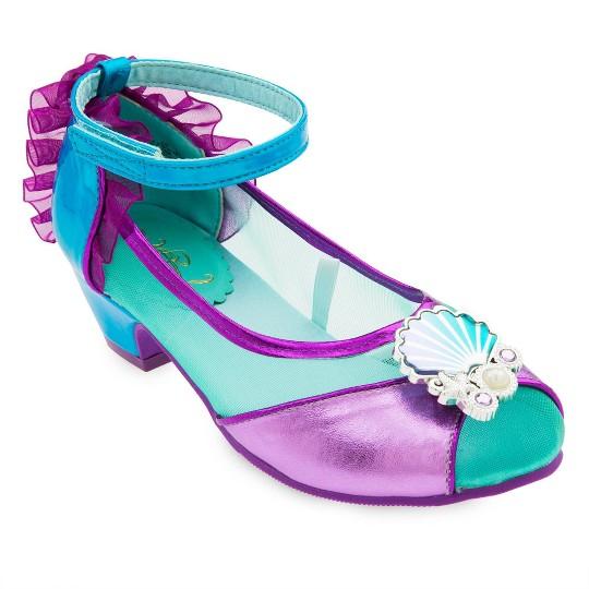 Girl's Little Mermaid Ariel Costume Shoes - 11/12 - Disney store, Women's, Purple image number null