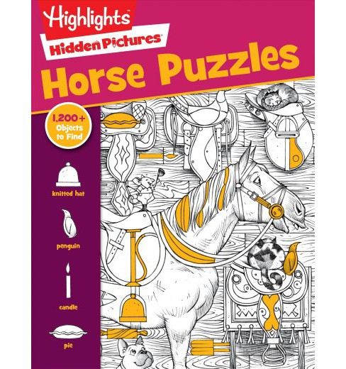 Horse Puzzles (Paperback) - image 1 of 1