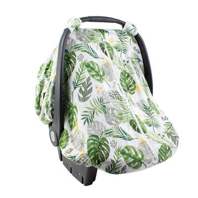 Bebe au Lait Muslin Car Seat Cover - Rainforest